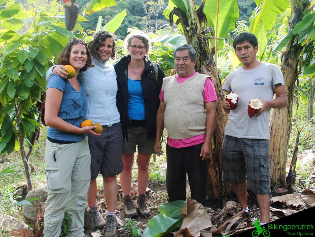 Trail inca jungle