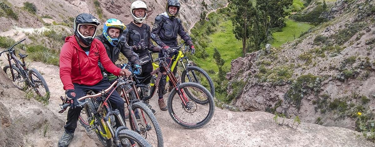about us biking peru