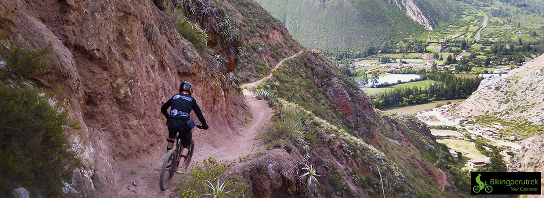 sacred downhill extended to machupicchu