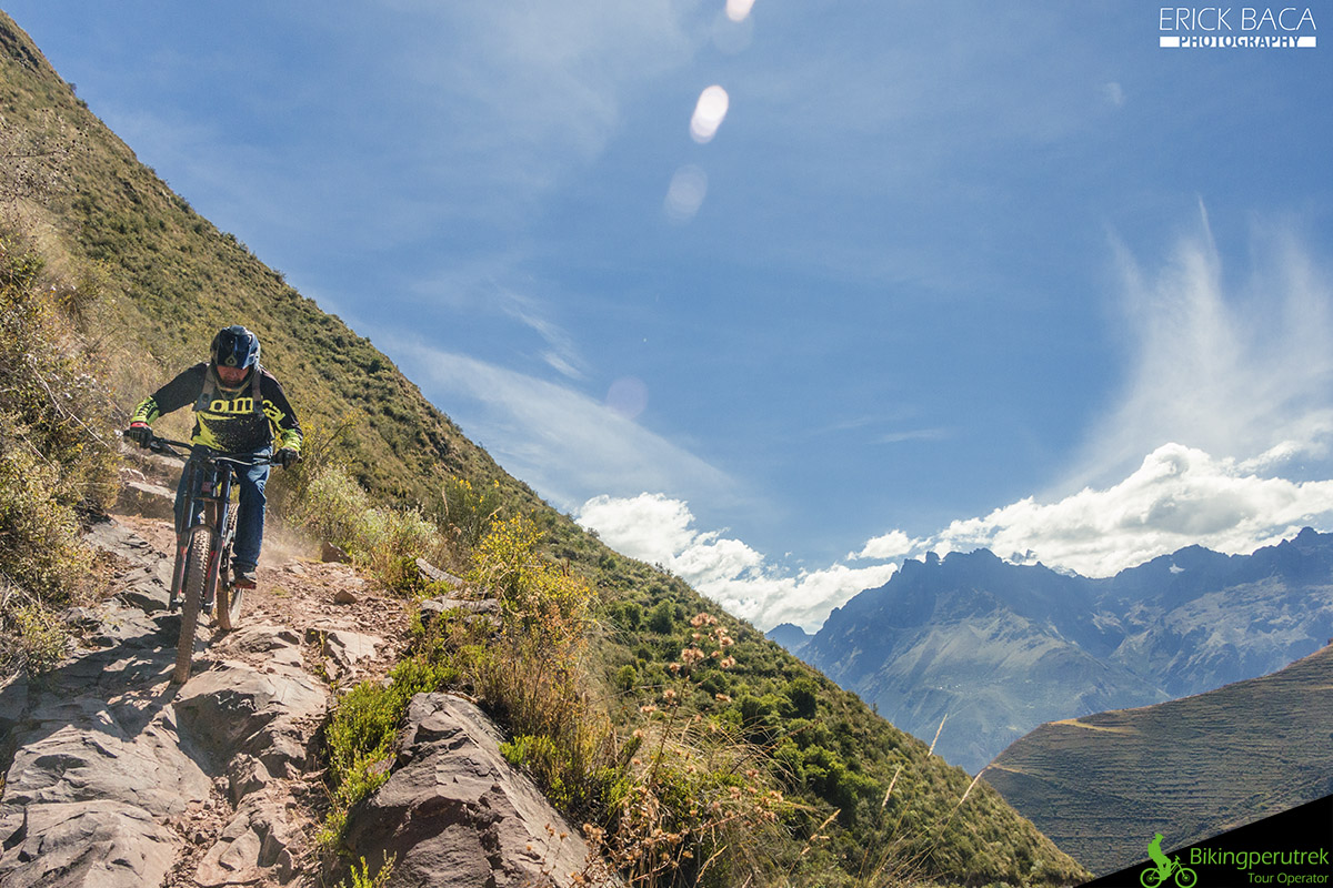 rock graden sacred valley mountain bike