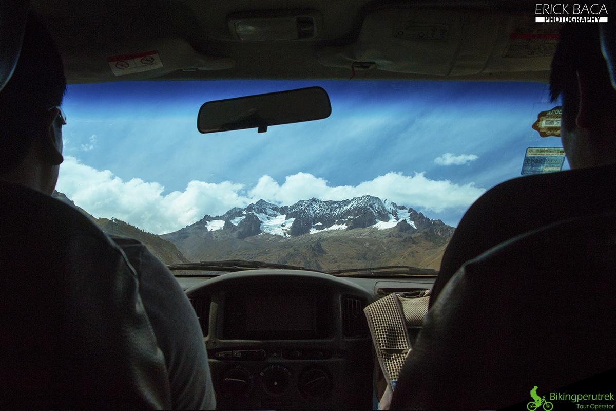 view mountain sacred valley downhill tour