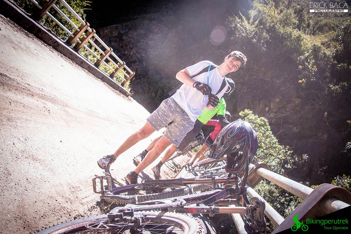 Biking ocobamba