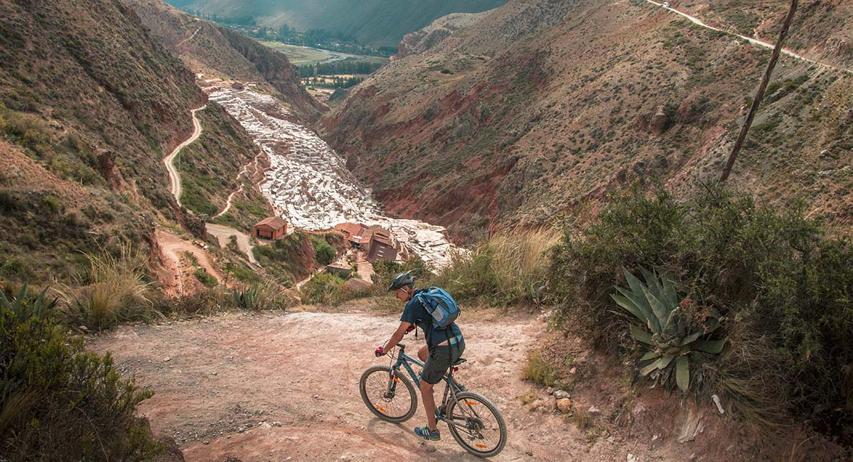 Amazing mountain bike trails Cusco