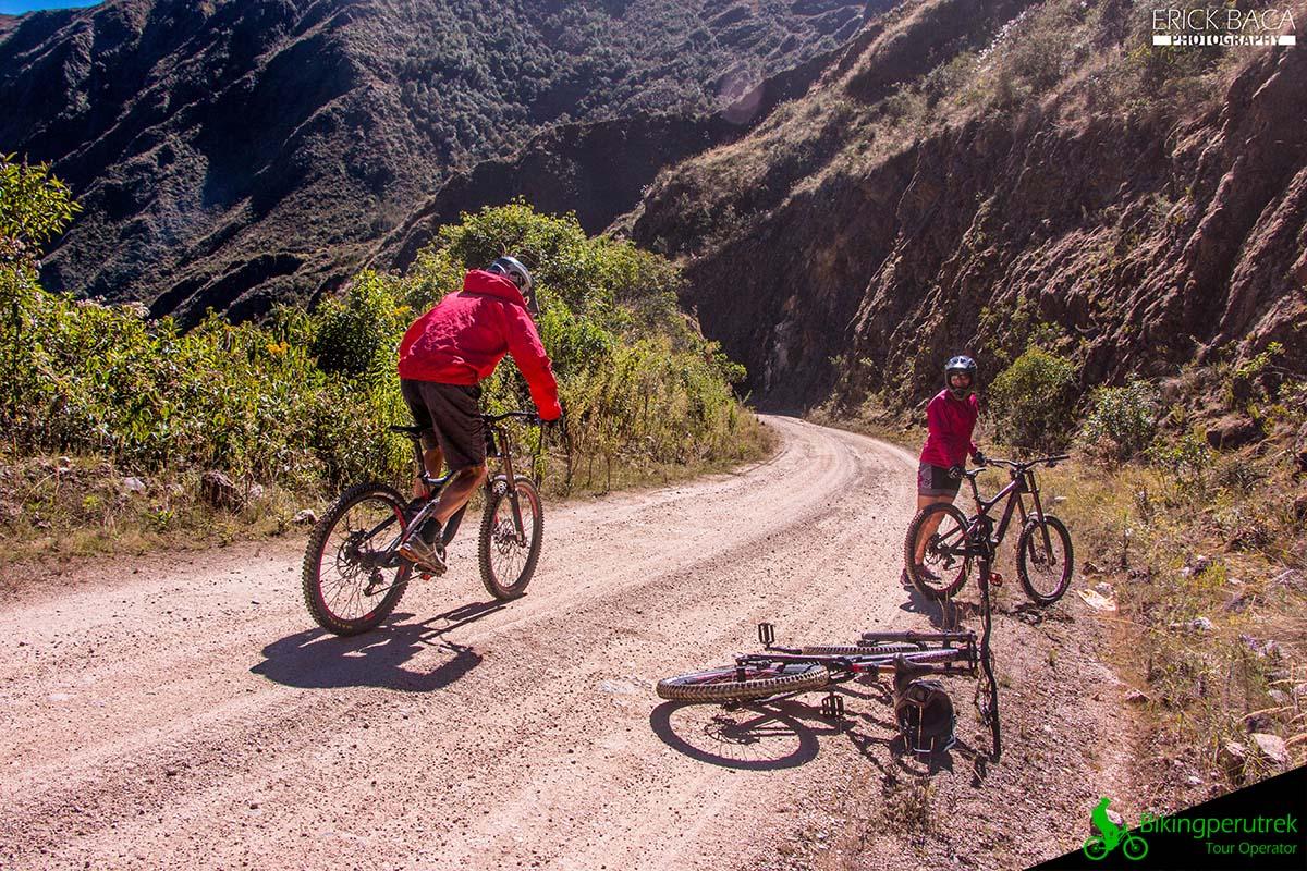 Mountain bike cusco ocobamba