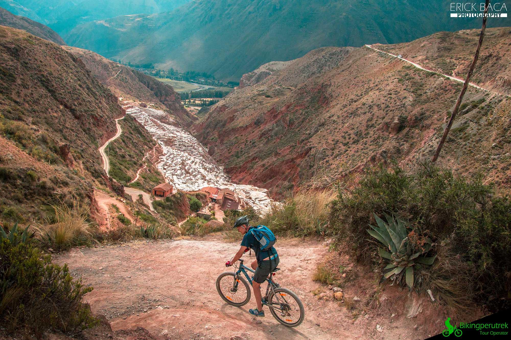 Salineras biking